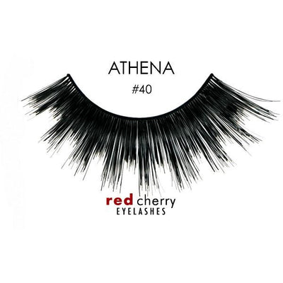 Red Cherry Lashes Style #40 (Athena)