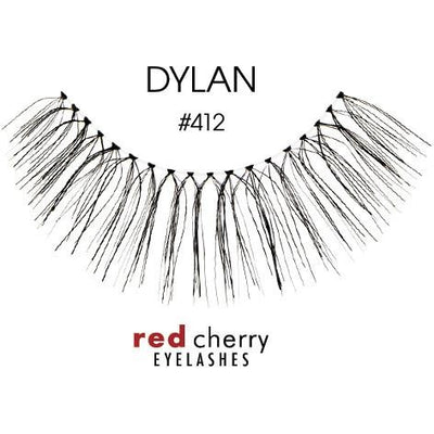 Red Cherry Lashes Style #412 (Dylan)