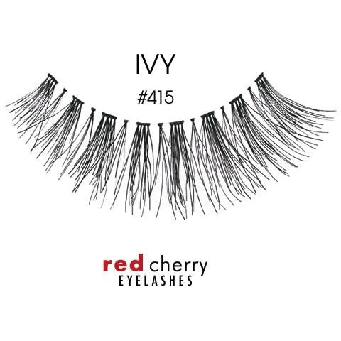Red Cherry Lashes Style #415 (Ivy)