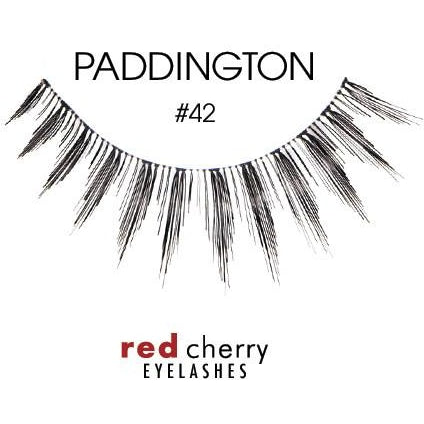 Red Cherry Lashes Style #42 (Paddington)