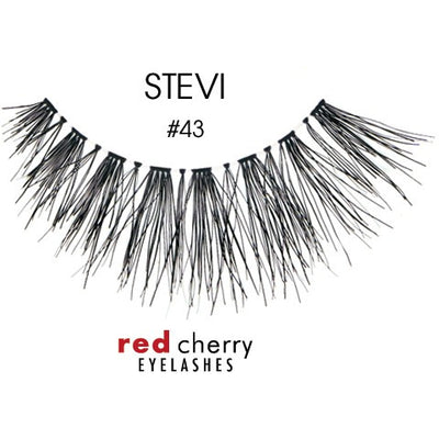 Red Cherry Lashes Style #43 (Stevi)