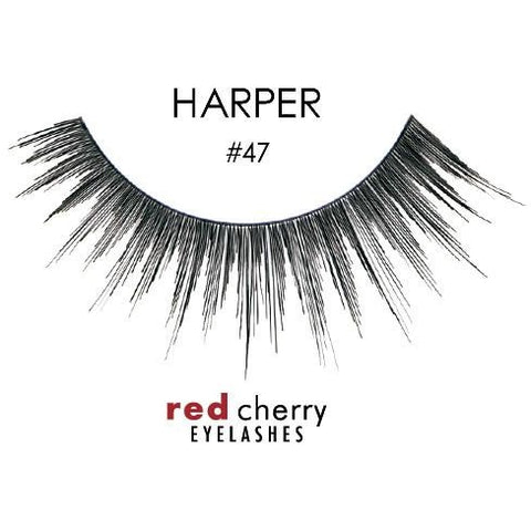 Red Cherry Lashes Style #47 (Harper)