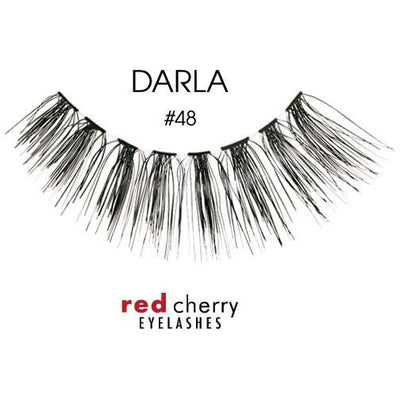 Red Cherry Lashes Style #48 (Darla)