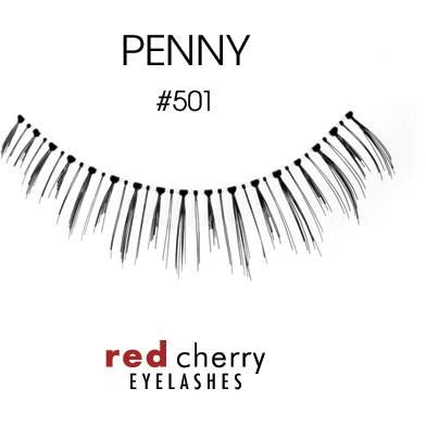 Red Cherry Under Lashes Style #501 (Penny)