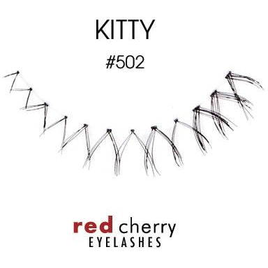 Red Cherry Under Lashes Style #502 (Kitty)