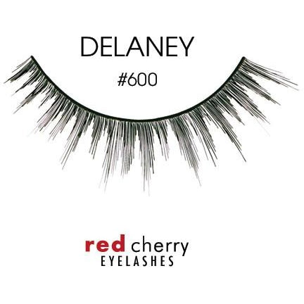 Red Cherry Lashes Style #600 (Delaney)