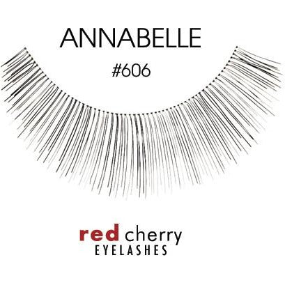 Red Cherry Lashes Style #606 (Annabelle)