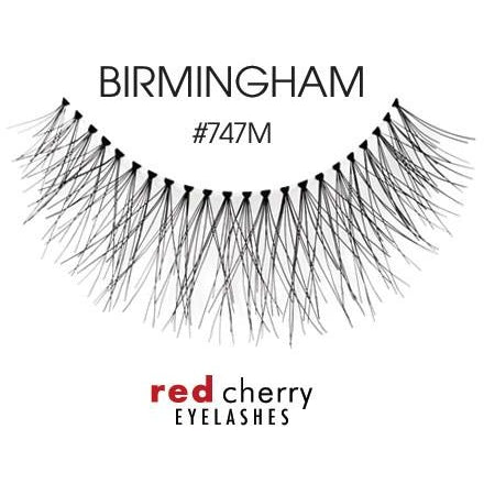 Red Cherry Lashes Style #747M (Birmingham)