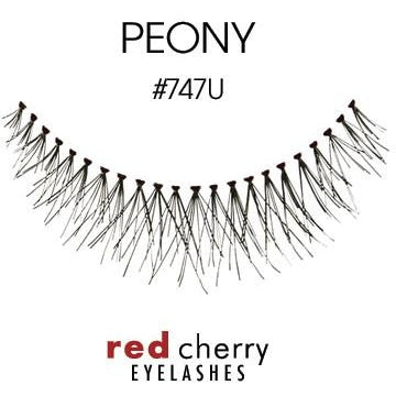 Red Cherry Lashes Style #747U (Peony)