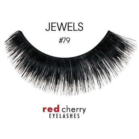 Red Cherry Lashes Style #79 (Jewels)