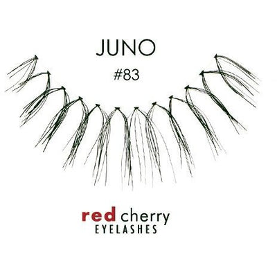 Red Cherry Lashes Style #83 (Juno)