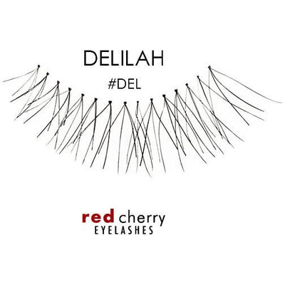 Red Cherry Lashes Style #DEL (Delilah)