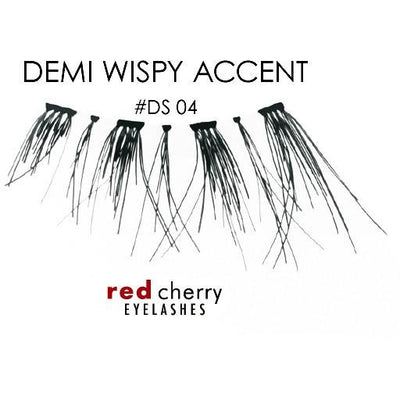 Red Cherry Demi Lashes Style #DS04 (Demi Wispy Accent)