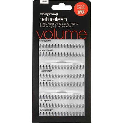 Salon System Individual Lashes - Salon System Individual Lashes SALON VALUE PACK Black Short