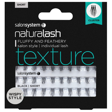 Salon System Individual Lashes Texture Cluster Short