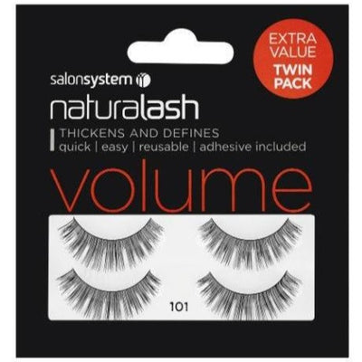 Salon System Naturalash 101 Black Volume (TWIN PACK)