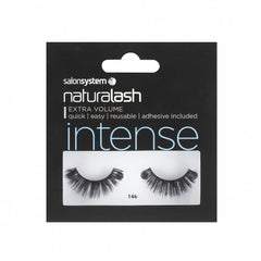 Salon System Strip Lashes - Salon System Naturalash 146 Black Intense