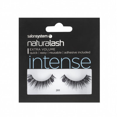 Salon System Strip Lashes - Salon System Naturalash 201 Black Intense