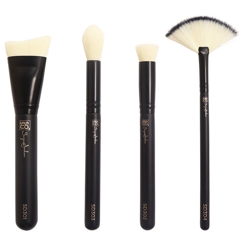 SOSU Premium Makeup Brushes - The Detail Collection