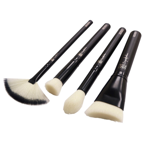 SOSU Premium Makeup Brushes - The Detail Collection (Angled)