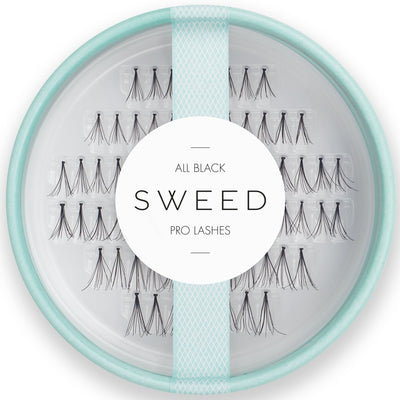 SWEED Lashes - All Black (7, 10, 12mm)