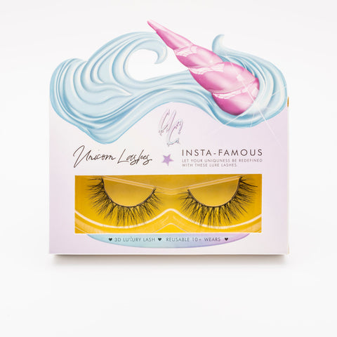 Unicorn Cosmetics Rainbow Lashes - Shy Violet (Packaging Shot)