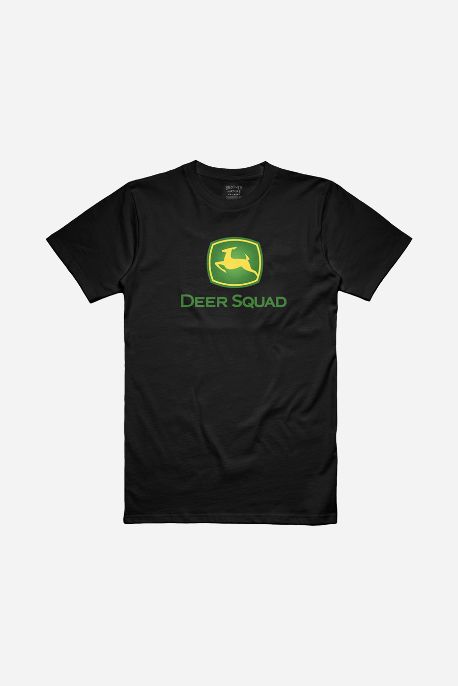Deer Squad Black Tee