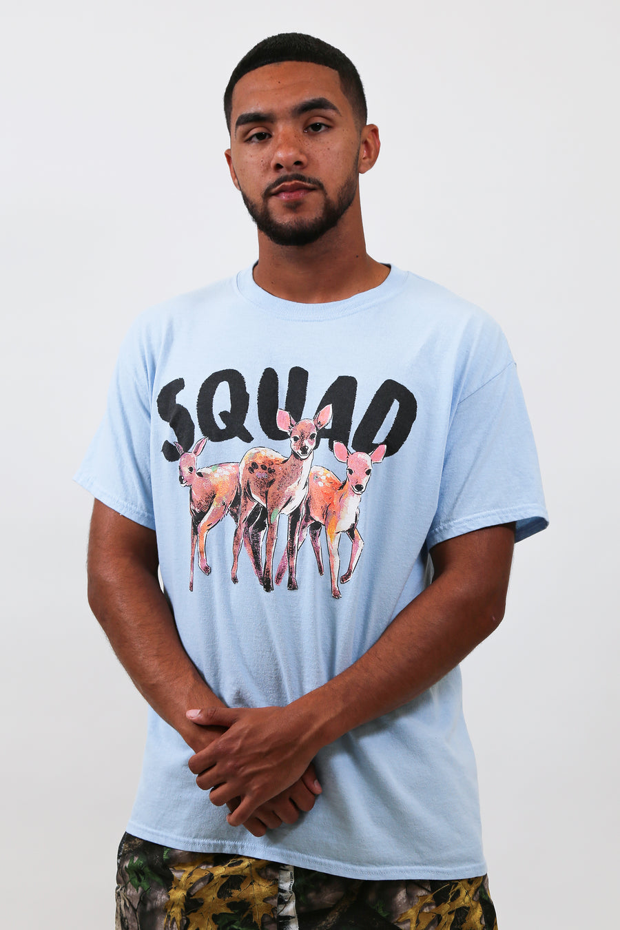 Squad Light Blue Tee