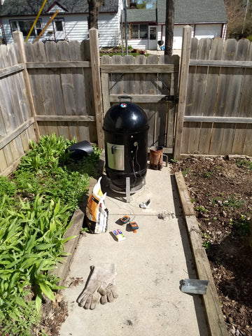 Cookin' with the Weber Smokey Mountain!
