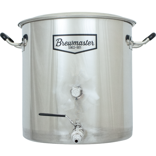 Brewmaster 8.5 Gallon Stainless Steel Kettle w/Spigot and Plug
