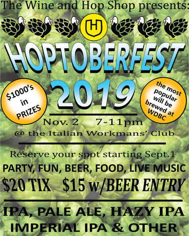 Hoptoberfest 2019 Ticket