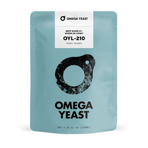 Omega Yeast OYL-210 Brett Blend #1 - Where Da Funk?