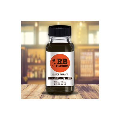 Birch Beer Soda Extract 2 oz (Old Fashioned)