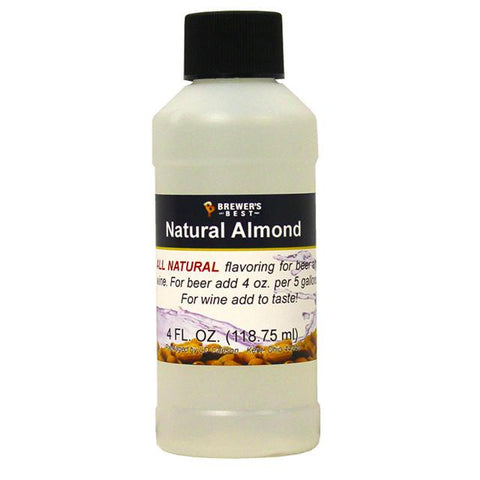 Almond All-Natural Flavoring Extract 4 oz