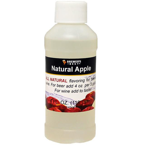 Apple All-Natural Fruit Flavoring Extract 4 oz