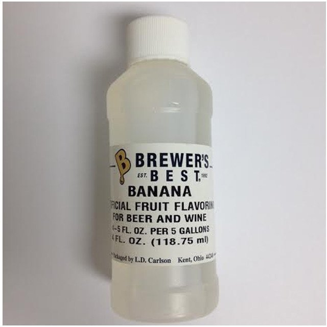 Additives And Clarifiers - Banana Flavoring Extract 4 Oz