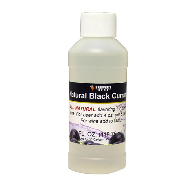 Additives And Clarifiers - Black Currant All-Natural Flavoring Extract 4 Oz