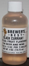 Additives And Clarifiers - Black Currant Flavoring Extract 4 Oz