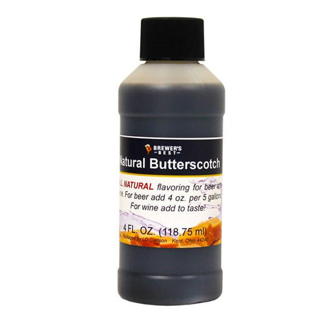 Butterscotch All-Natural Flavoring Extract 4 oz