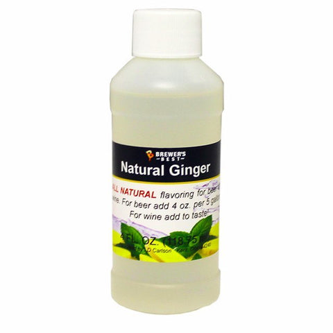 Ginger All-Natural Flavoring Extract 4 oz