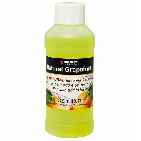Grapefruit All-Natural Fruit Flavoring Extract 4 oz