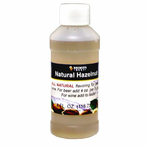 Hazelnut All-Natural Flavoring Extract 4 oz