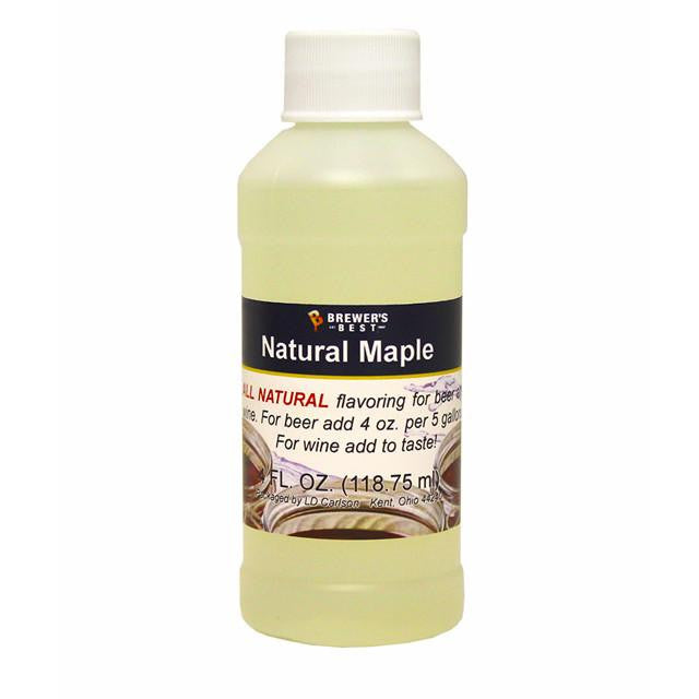Additives And Clarifiers - Maple All-Natural Flavoring Extract 4 Oz