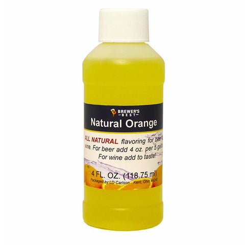 Orange All-Natural Flavoring Extract 4 oz