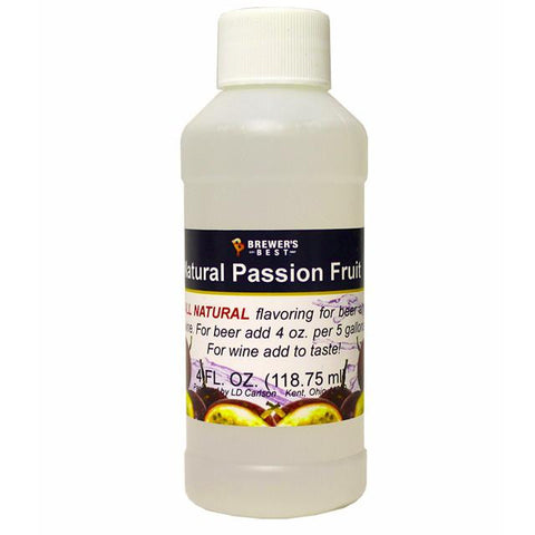 Passion Fruit All-Natural Fruit Flavoring Extract 4 oz