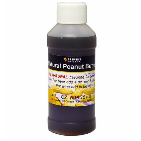 Peanut Butter All-Natural Flavoring Extract 4 oz