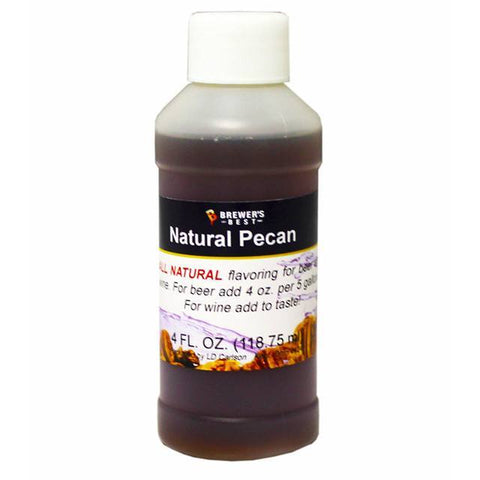 Pecan All-Natural Flavoring Extract 4 oz.