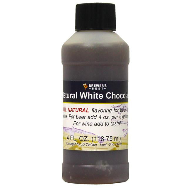 Additives And Clarifiers - White Chocolate All-Natural Flavoring Extract 4 Oz