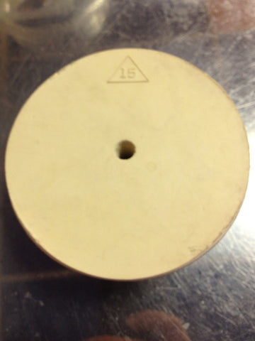 #15 Drilled Rubber Stopper (DRS)
