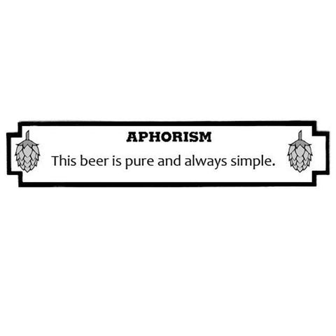1 Gallon Aphoristic Amber Ale All-Grain Kit
